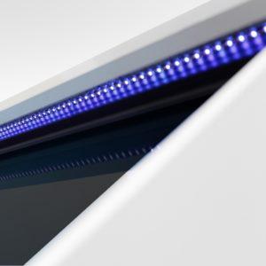 Oświetlenie LED garderoby AGA niebieskie klipsy