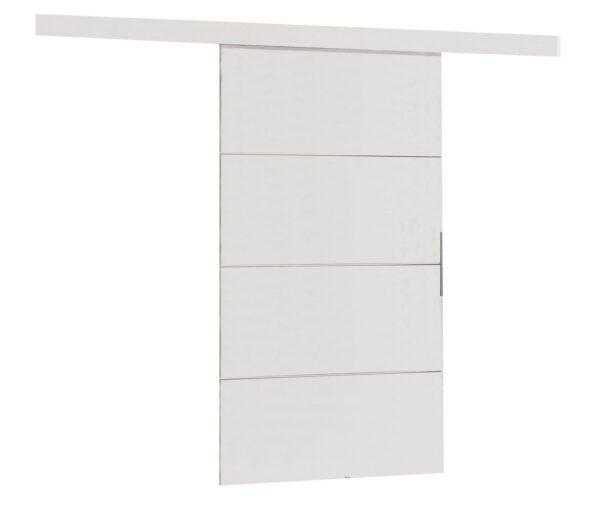 Drzwi przesuwne naścienne MULTI PLUS 100 białe