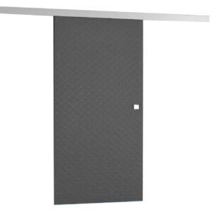 Drzwi przesuwne naścienne tapicerowane MILANO 90