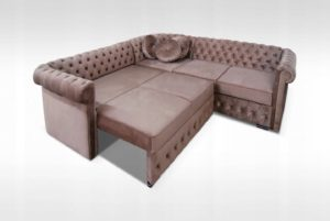 Narożnik CHERRY rogówka kanapa salon sypialnia