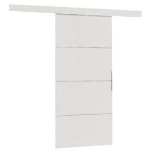 Drzwi przesuwne naścienne MULTI PLUS 80 białe