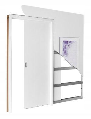Drzwi przesuwne STARK 100 + kaseta drzwi chowanych
