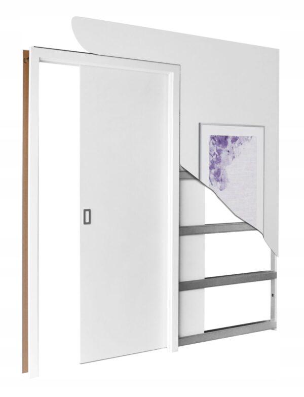 Drzwi przesuwne STARK 80 + kaseta drzwi chowanych