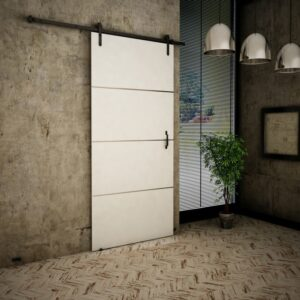 Drzwi przesuwne naścienne LOFT PLUS 80 UCHWYT GRATIS