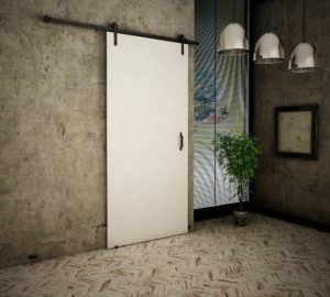 Drzwi przesuwne naścienne LOFT 80 UCHWYT GRATIS