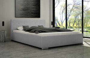 Łoże tapicerowane FERIA 160 ze stelażem łóżko
