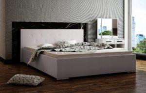 Łoże tapicerowane SLIM 160 łóżko ze stelażem