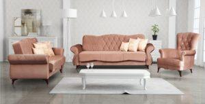 Fotel PANAMA I salon sypialnia
