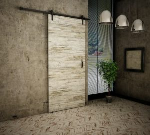 Drzwi przesuwne naścienne LOFT 90 UCHWYT GRATIS
