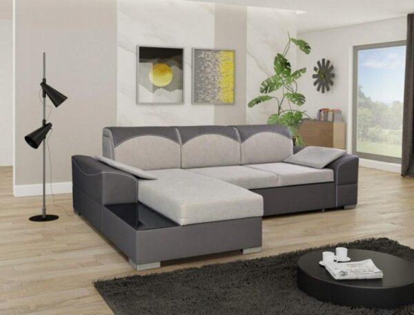 Narożnik MICHELLE rogówka kanapa salon sypialnia