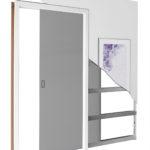 Drzwi przesuwne wewnątrzścienne STARK 90