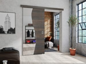 Drzwi przesuwne naścienne BAJLA 80