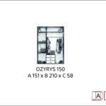 Szafa OZYRYS 150