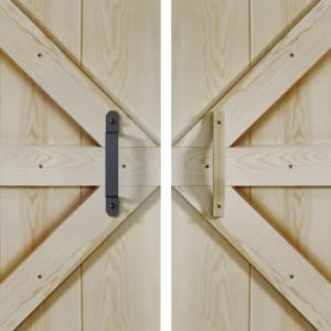 Drzwi przesuwne wewnątrzścienne STARK RUST 80