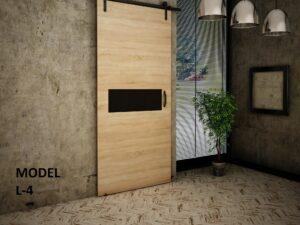 Drzwi przesuwne naścienne LOFT WZORY 100