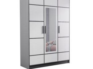 Szafa trzydrzwiowa garderoba z lustrem DIOR 157